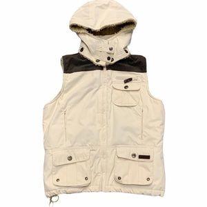 POWDER ROOM Primaloft Sleeveless Lined Coat Size M